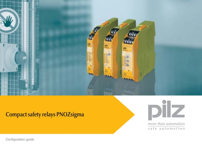 Compact safety relays PNOZsigma